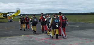Taupo - Skydiving